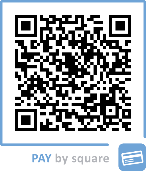 PAY by square QR code